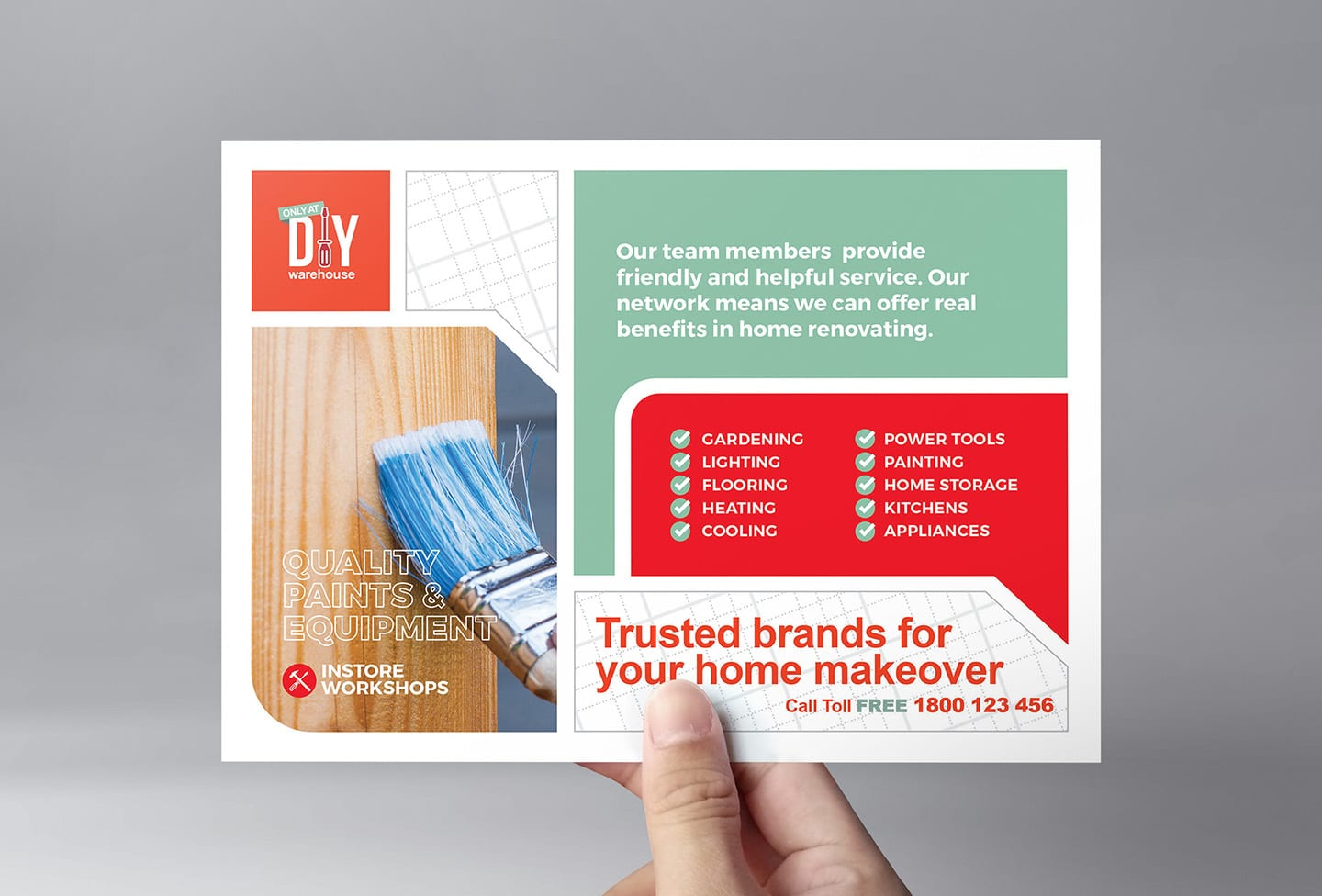 DIY Tool Supply Flyer Template