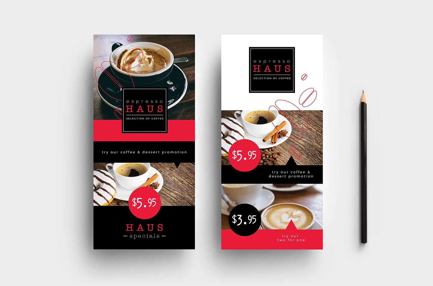 cafe menu template pack for photoshop illustrator brandpacks. Black Bedroom Furniture Sets. Home Design Ideas