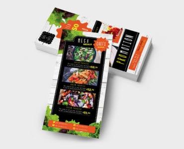 DL Salad Menu Template