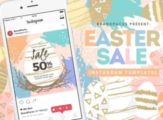 Easter Sale Instagram Templates
