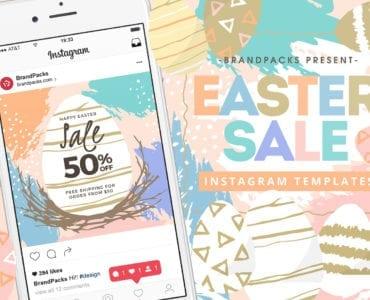 Easter Sale Instagram Templates