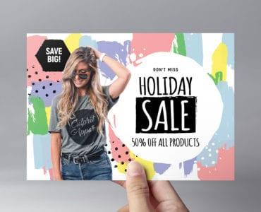 Grand Sale Flyer Template