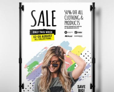 Grand Sale Poster Template - Portrait
