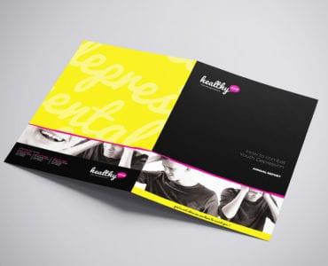 Mental Health A3 Brochure Template