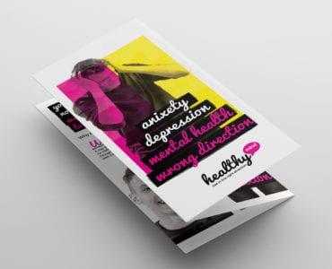 Mental Health Tri-Fold Brochure Template