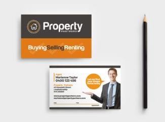 Realtor Business Card Template