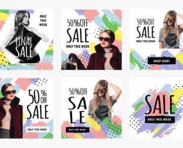 Instagram / Social Media Sale Templates