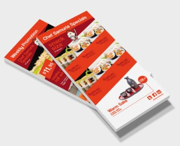 DL Sushi Menu Template