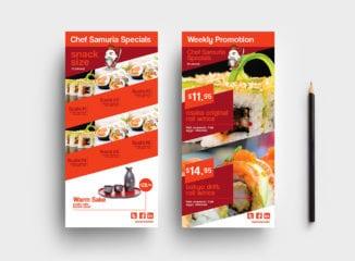 DL Sushi Menu Template