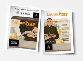 A4 Christian Church Poster Template