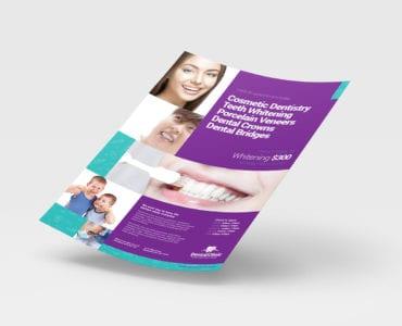 A4 Dental Clinic Poster / Advertisement Template