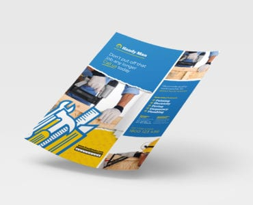 A4 Joiner / Builder Poster Template in PSD, Ai & Vector