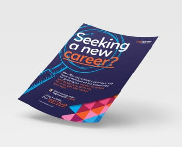 A4 Recruitment Agency Poster / Advertisement Template