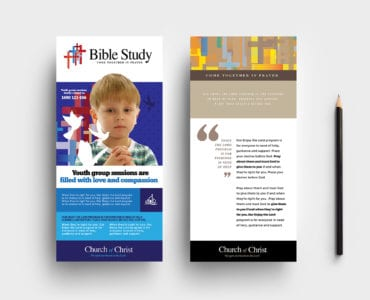 Christian Church DL Rack Card Template