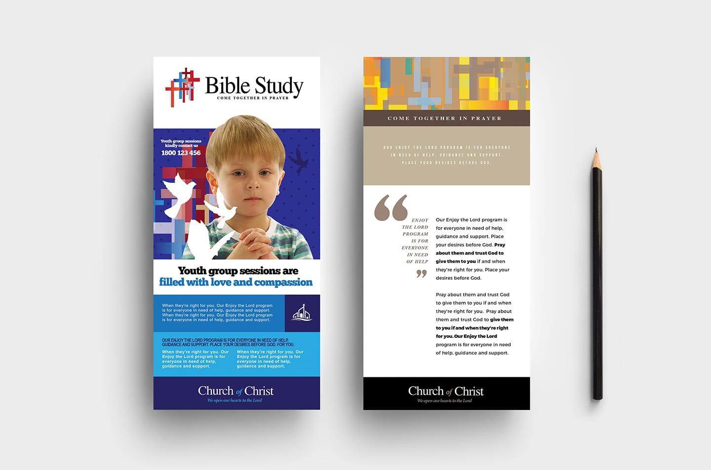 Christian Church DL Rack Card Template