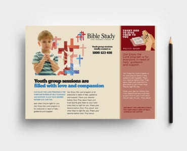 Christian Church Flyer Template