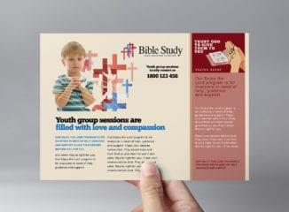 Christian Church Flyer Template