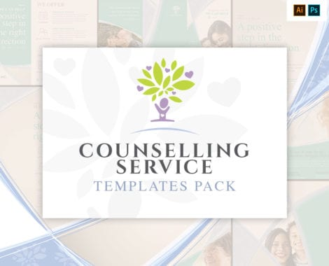 Counselling Service Templates Pack