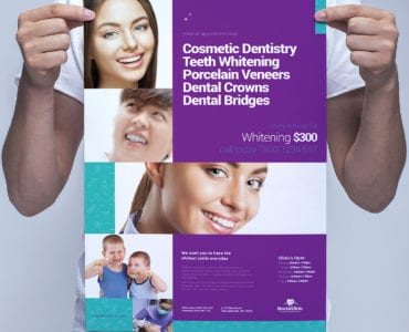 Dental Clinic Poster Template