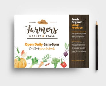 Farmers Market Flyer Template
