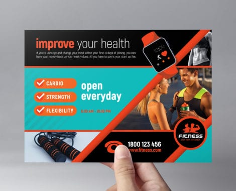 Gym / Fitness Flyer Template