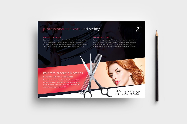 Hair Salon Flyer Template in PSD, Ai & Vector - BrandPacks