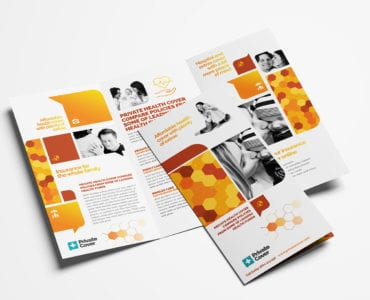 Health Insurance Tri-Fold Brochure Template