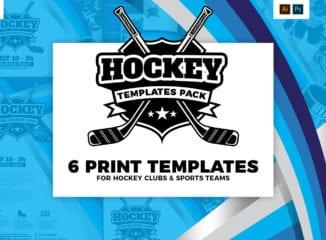 Hockey Club Templates Pack