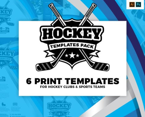Hockey Club Templates Pack