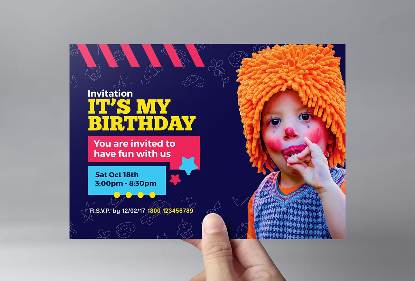 Kid's Party Flyer Template