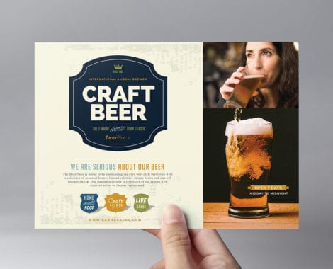 Local Pub Flyer Template