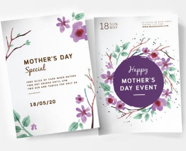 Mother's Day Sale Poster Templates