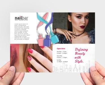 Nail Salon Flyer Template