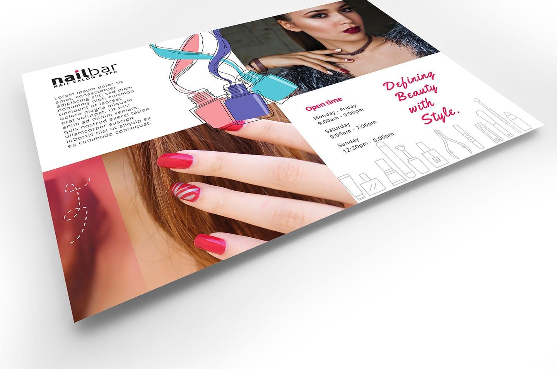 Nail Salon Flyer Template In Psd Ai Vector Brandpacks