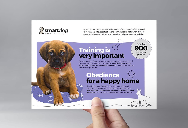 Puppy School Flyer Template