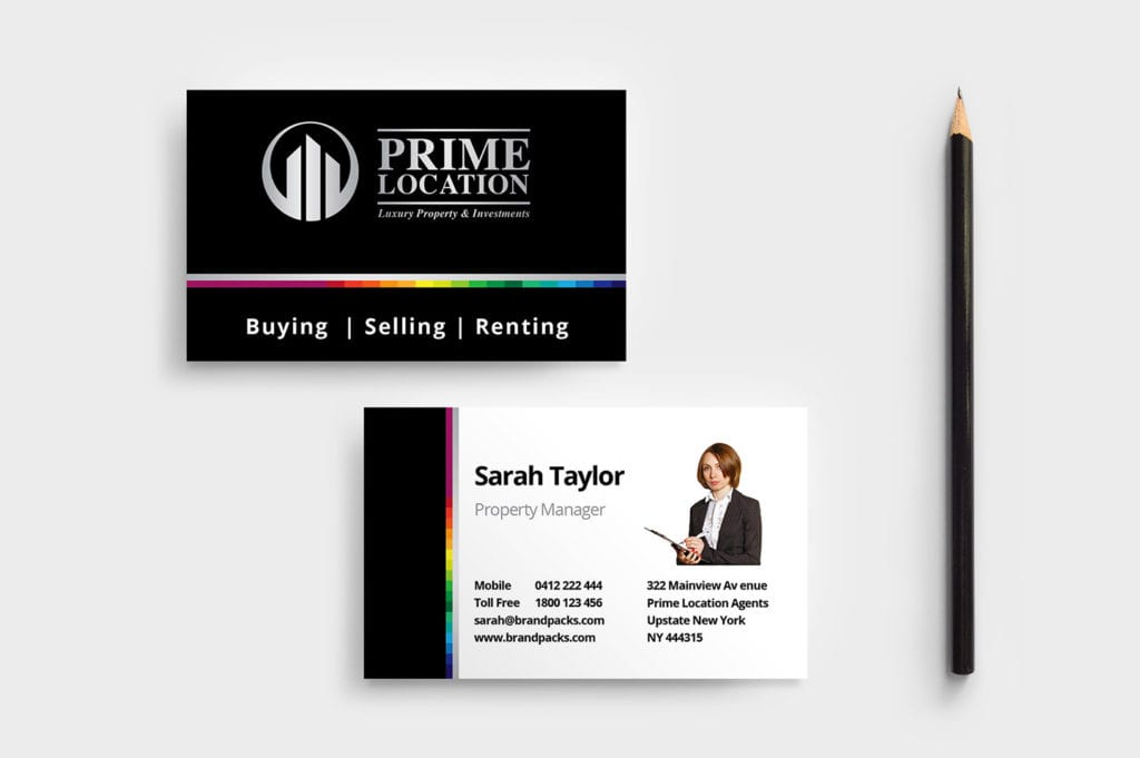 Real Estate Agency Business Card Template
