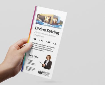 Real Estate Agency DL Rack Card Template
