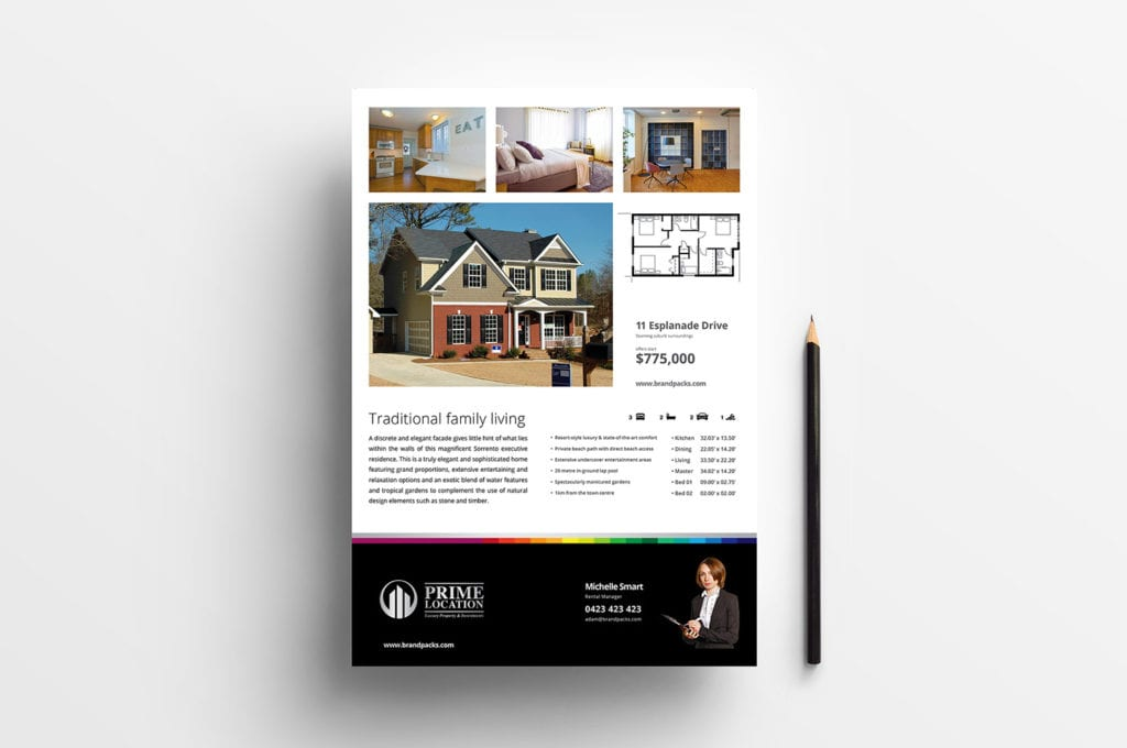 Real Estate Poster Template