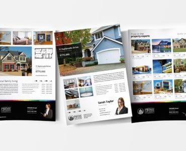 Real Estate Poster Templates