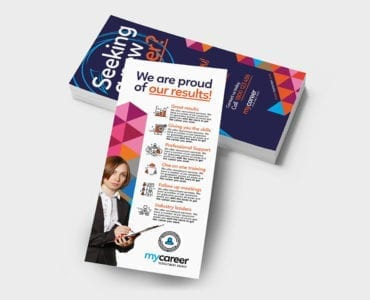 Recruitment Agency DL Rack Card Template
