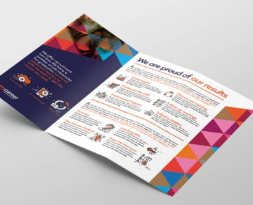 Recruitment Agency Tri-Fold Brochure Template