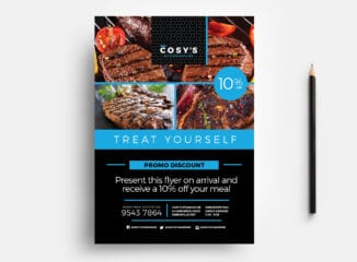 Restaurant Flyer Template