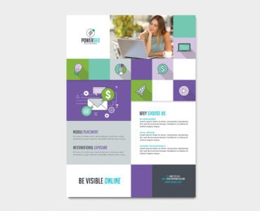 SEO agency Poster / Advertisement Template