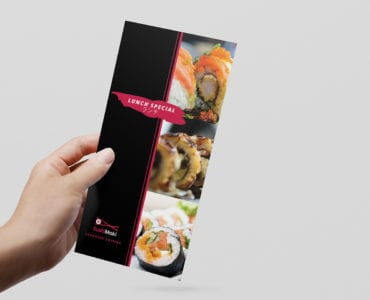 Dark Sushi DL Menu Template