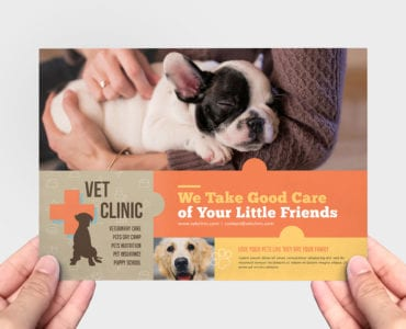 Vet Clinic Flyer Template