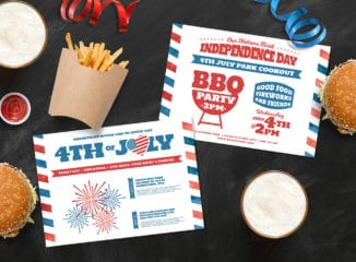 Traditional 4th July Flyer Templates