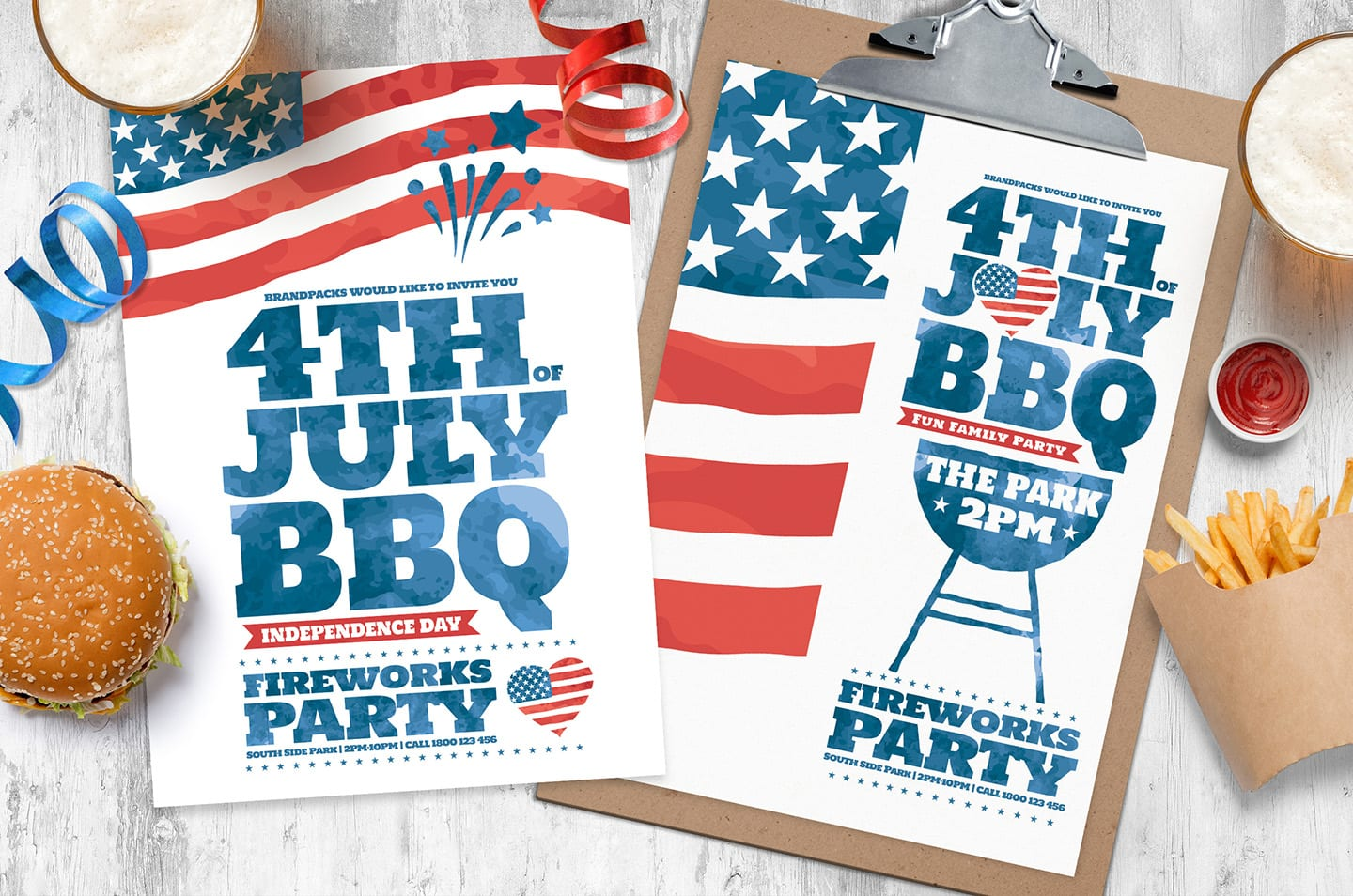 4th of July Poster Templates