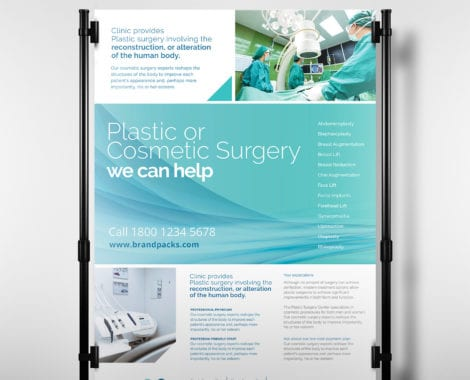 A3 Hospital Poster Template