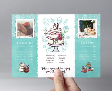 Cake Shop Flyer Template
