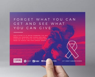 Cancer Charity Flyer Template